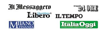 Sole24Ore + MF + Messaggero + Tempo + Italia Oggi + Libero